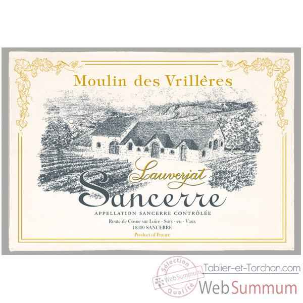 Video Torchon imprime Moulin des Vrilleres - Sancerre -1015